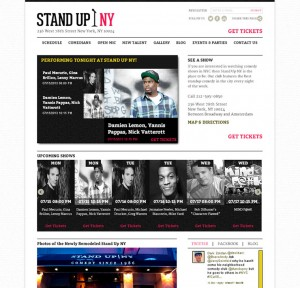 StandUpNY.com - Entertainment Venue