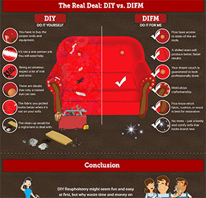 Sofa Repair Infographic