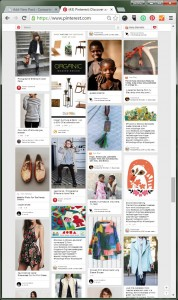 Infinite scroll on Pinterest makes sense, because users can consume image content easily while browsing for inspiration.
