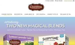 Celestial Seasonings UI is not consistent with Arrowhead Mills